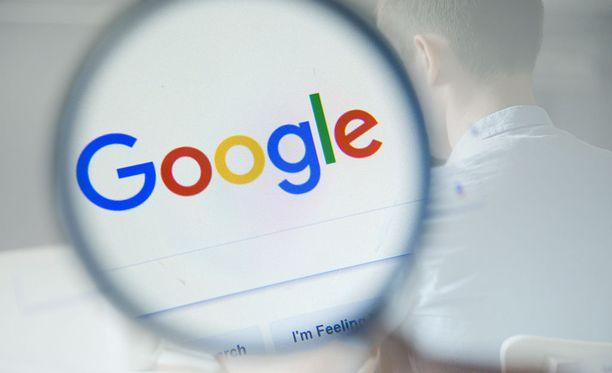 Google on paljastanut tietoa poistamistaan hakutuloksista.