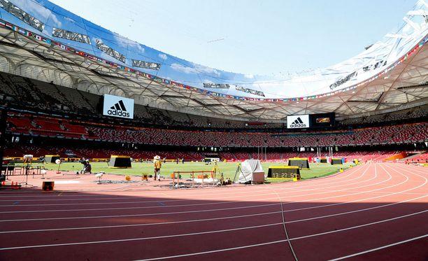 Pekingin yleisurheilustadionilla Linnunpesässä pitää tehdä kovia tuloksia, jotta MM-finaalipaikka aukeaa.
