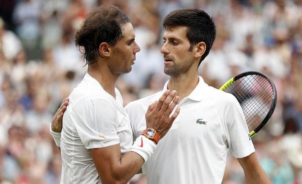 Rafael Nadal ja Novak Djokovic pelasivat yli viisituntisen välieräottelun.