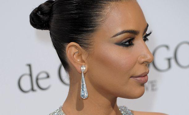 Kim Kardashian on kahden lapsen äiti.