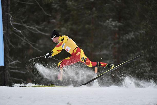 Joni Mäki kompuroi lauantaina Suomen cupin välierässä.