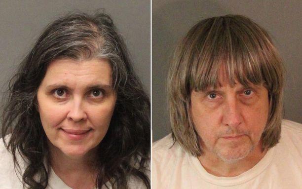 David Allen Turpinia ja Louise Anna Turpinia syytetään muun muassa lastensa kiduttamisesta ja vangitsemisesta.