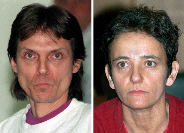 Christian Klar ja Birgit Hogefeld ovat viimeiset vankilassa istuvat Punaisen armeijakunnan jäsenet. Klar on kuvattu vuonna 1992, Hogefeld vuonna 1996.