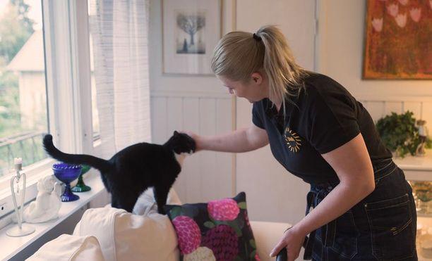 Stellan kotisiivouksessa asiakkaita ovat kaikki kodin asukkaat.