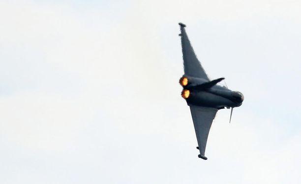 Eurofighter Typhoon -hävittäjälentokone.