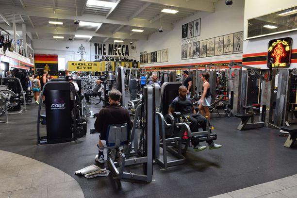 Venicen kaupunginosassa sijaitseva Gold's Gym on monien mielestä maailman ikonisin kuntosali.