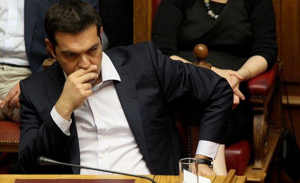 Alexis Tsipraksen paikka pääministerinä on uhattuna, mikäli Kreikka äänestää eurossa pysymisen puolesta.