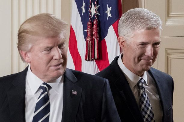 Neil Gorsuch on Donald J. Trumpin valinta korkeimman oikeuden tuomariksi.