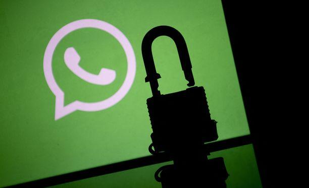Whatsapp-huijauksia on ollut runsaasti liikkeellä.