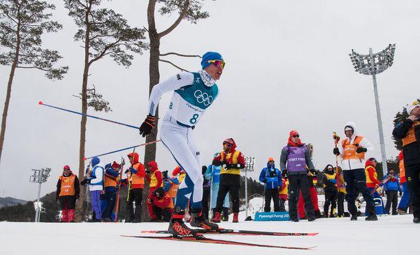 Iivo Niskasella on huomattava haaste Korean olympialaduilla.