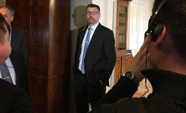 Valtakunnan syyttäjä Matti Nissisen asiaa käsiteltiin korkeimmassa oikeudessa keskiviikkona.