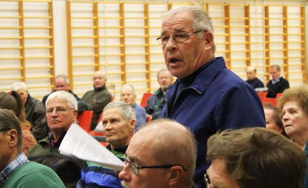 Pekka Rönkkö syytti Talvivaaraa saastuttamisesta ja vaati vesiasioita pikaisesti kuntoon.