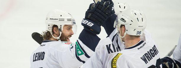 Ville Leino pelasi viime kaudella 28 KHL-ottelua Zagrebin paidassa. Hän siirtyi helmikuussa Sveitsiin.