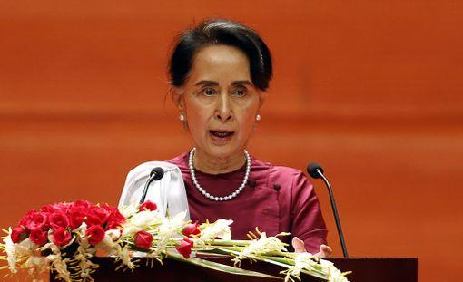 Myanmarin johtaja Aung San Suu Kyi piti maansa tilannetta koskevan puheen aiemmin tällä viikolla.