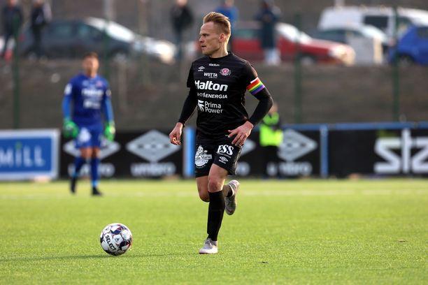 FC Lahden kapteeni Mikko Hauhia lopettaa hienon uransa.