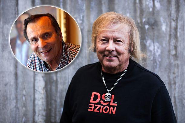 Musiikkineuvos Danny ja Reijo Taipale olivat alkuvuosinaan kilpailijoita. Vuosien varrella miehistä tuli hyvät ystävät.