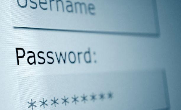 Suosituin salasanoista oli viime vuonna 123456.