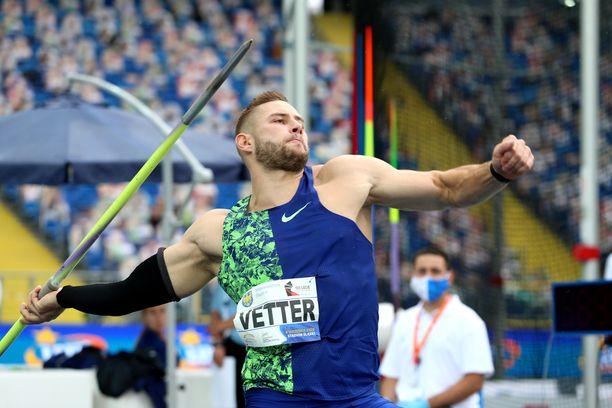 Johannes Vetterin kapasiteetti riittää jopa 100 metriin, Aki Parviainen uskoo.