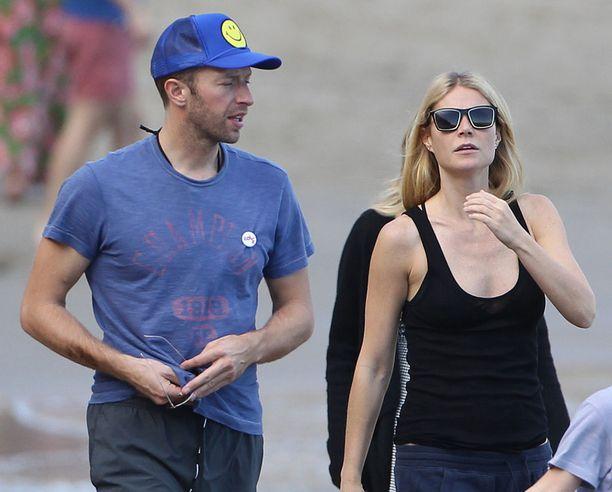 Gwyneth ja Chris lomailivat yhdessä talvella 2015 avieroilmoituksensa jälkeen.