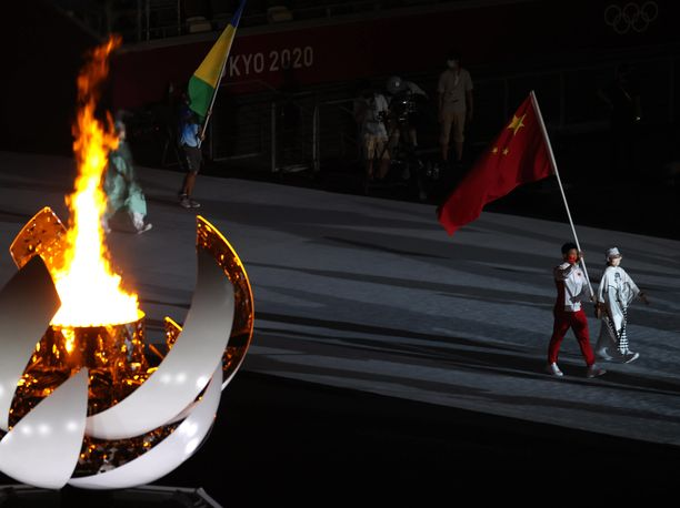 Kiina oli mitalitaulukon kakkonen, vaikka maassa muuta väitetään.