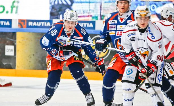 Tapparan puolustaja Aleksi Elorinne oli keskiviikon sankari.