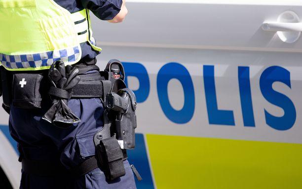 Poliisi kuvaa räjähdystä voimakkaaksi. Arkistokuva.