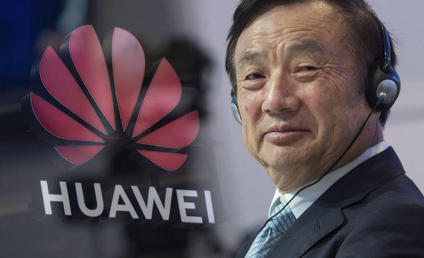Huawein toimitusjohtaja Ren Zhengfei luottaa yhtiön omaan käyttöjärjestelmään.