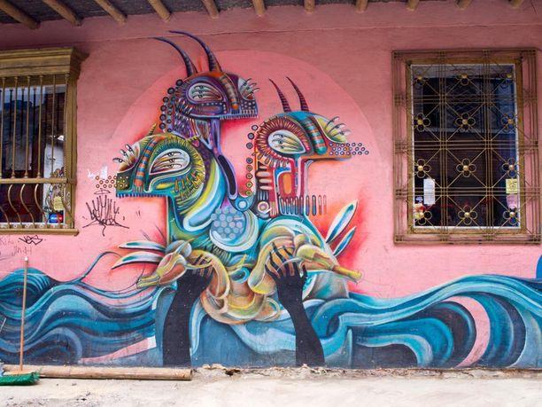 Paikka: Bogota, Kolumbia.