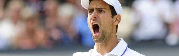 Novak Djokovic voitti ensimmäisen Wimbledonin mestaruutensa.
