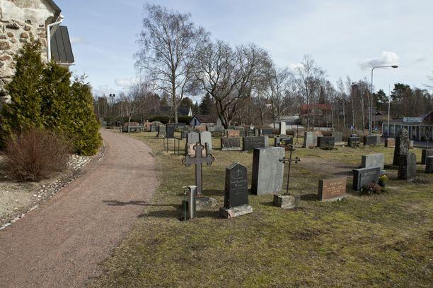 Kuvituskuvan hautausmaa ei liity tapaukseen.