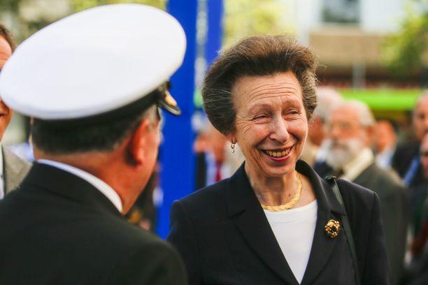 Prinsessa Anne on huhkinut edustustehtäviä kiitettävän määrän viime vuonna.