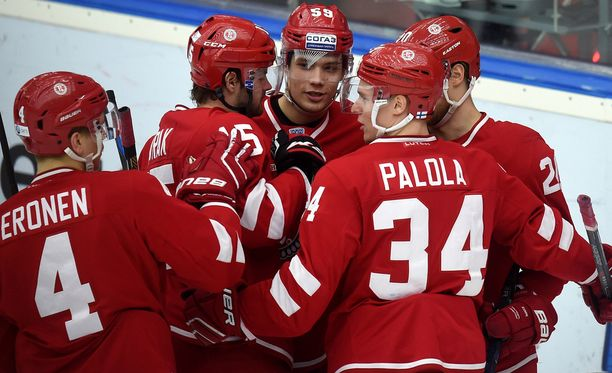 SM-liigan maalikuninkaan Olli Palolan KHL-kausi ei ole vastannut odotuksiin.