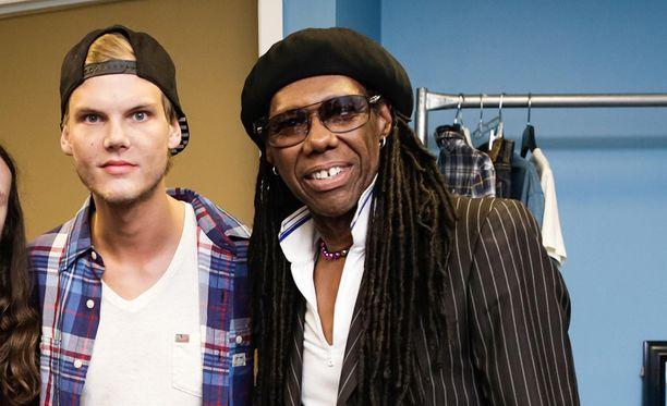 Nile Rodgers ja Avicii tekivät vuosien ajan yhteistyötä.