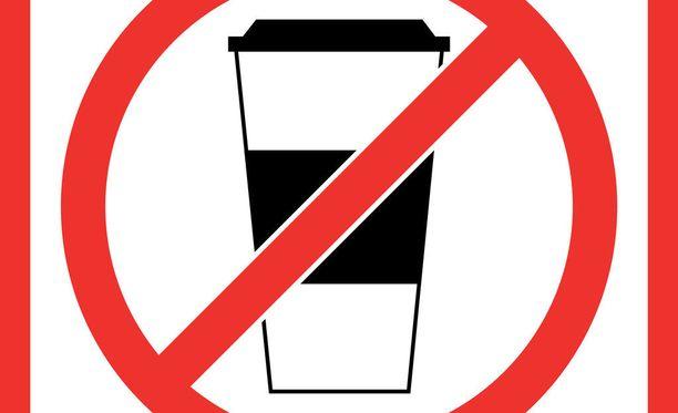 Kahvinjuontia ei ole sentään kielletty.