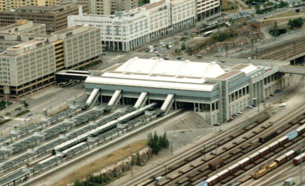 Pasilan asema ilmakuvassa vuonna 2006.