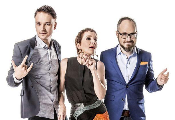 Roope Salmisen, Maria Veitolan ja Tuomas Enbusken talk show on edennyt jo neljännelle kaudelleen.