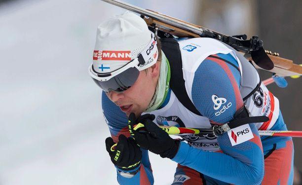 Ahti Toivanen on Suomen ykkönen Östersundissa.