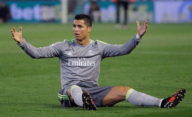 Cristiano Ronaldo jäi ilman maalia Benito Villamarín -stadionilla.