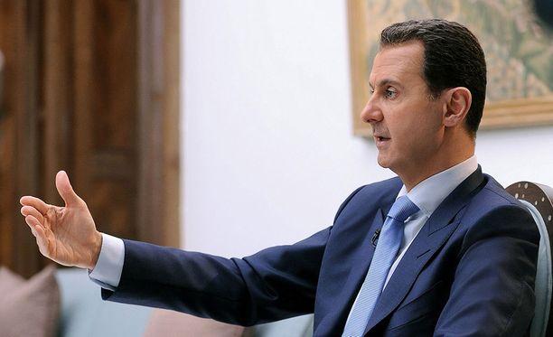 Bashar al-Assadin Syyria on ollut sisällissodassa jo kuusi vuotta.