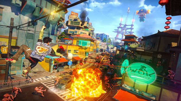 Sunset Overdrive on yksi Xbox Onen odotetuimmista peleistä.