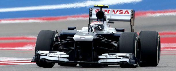 Valtteri Bottas onnistui kauden toiseksi viimeisessä osakilpailussa.