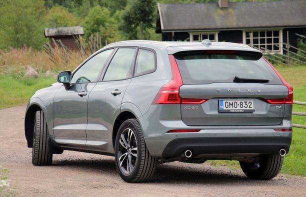 Volvo XC60 on myydyin nelivetoinen henkilöauto ja Volvo on merkkinä nelivetojen ykkönen.
