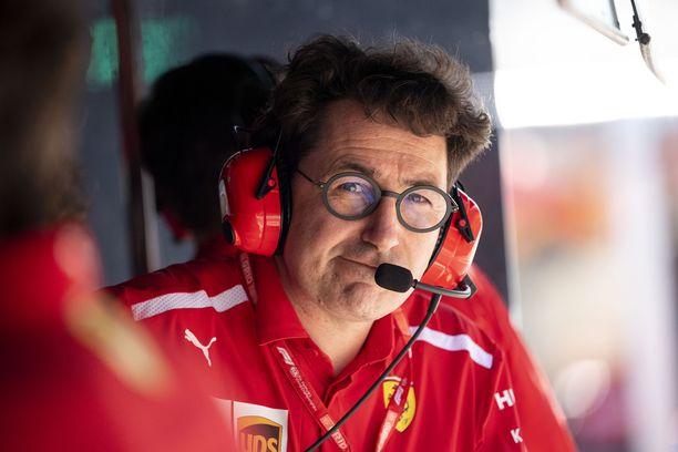 Mattia Binotto vannoo, että Ferrarin kuskikaksikko pysyy samana.