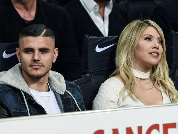Mauro Icardin ja Wanda Naran parisuhteesta on kohistu vuosien saatossa.