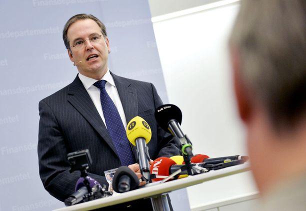 Anders Borg toimi valtiovarainministerinä vuosina 2006-2014.