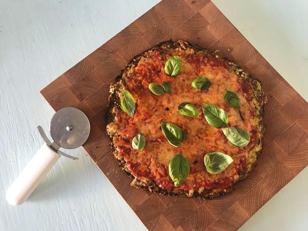 Miten toimii kesäkurpitsasta valmistettu pizzapohja?