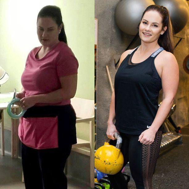 laihdu 2 kg viikossa