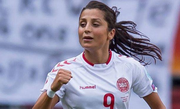 Nadia Nadim on kulkenut todella pitkän tien jalkapallomaailman huipulle.