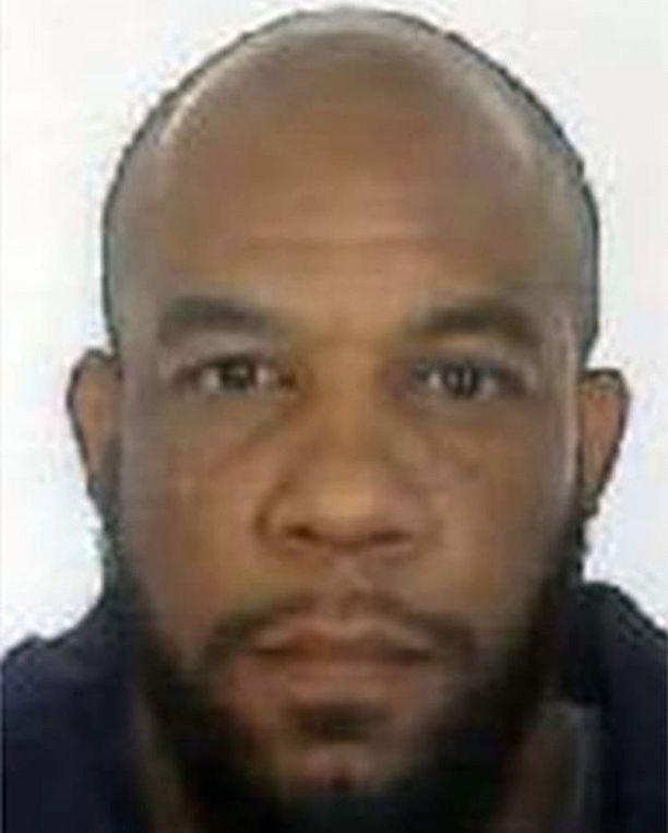 Lontoon poliisin julkaisema kuva iskun tekijästä Khalid Masoodista.