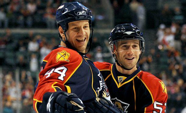 Nick Boynton pelasi NHL-urallaan kuudessa eri organisaatiossa.